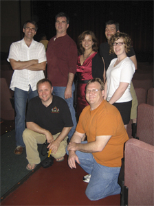 The Cast and Crew at the screening