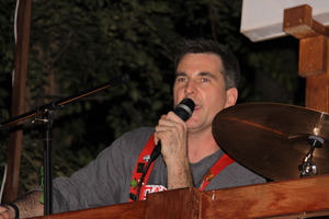 Mark Speaking at the 209 Party