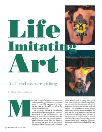 Life Imitaing Art article page 1